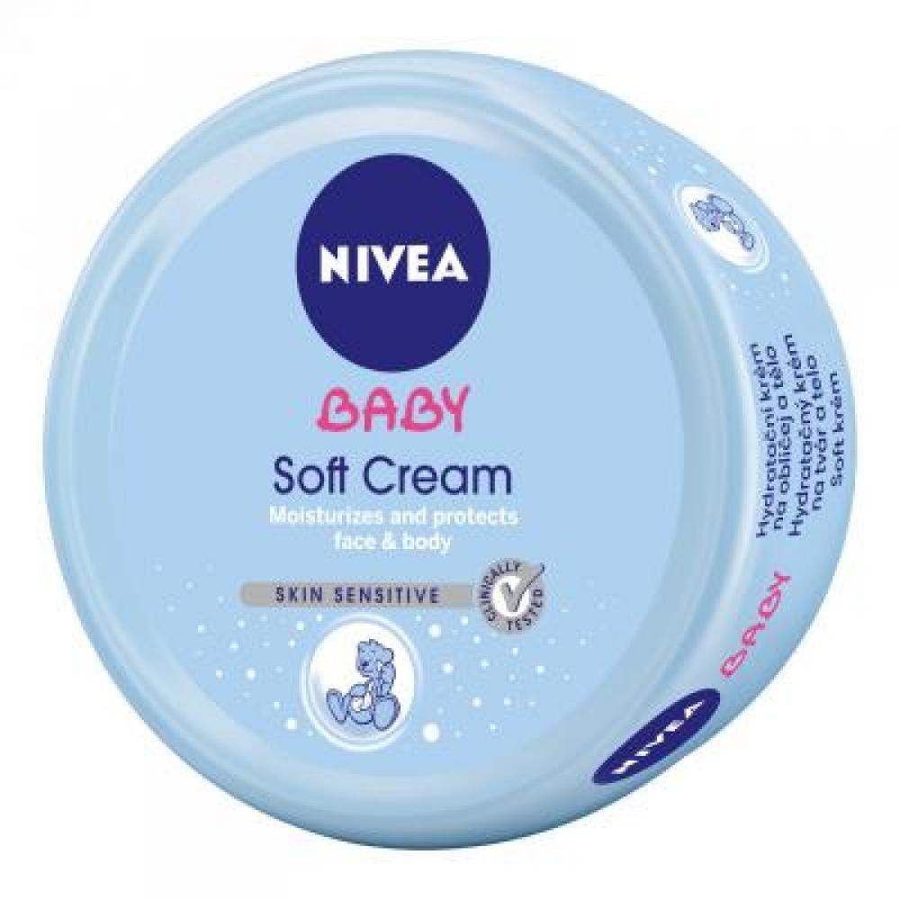 NIVEA Baby hydratační krém na obličej a na tělo 200ml