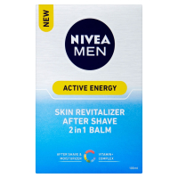 NIVEA Men Active Energy Revitalizační balzám po holení 2v1 100 ml