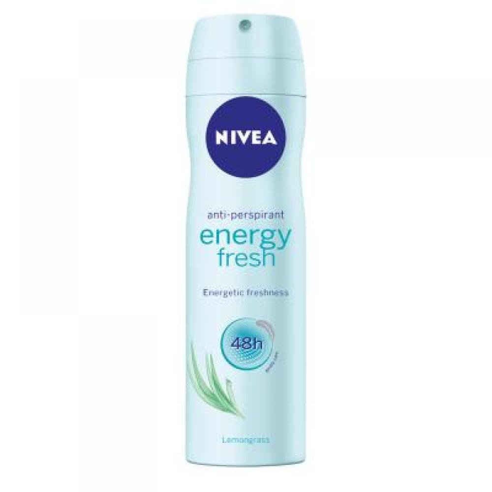 NIVEA Sprej antiperspirant Energy Fresh 150 ml