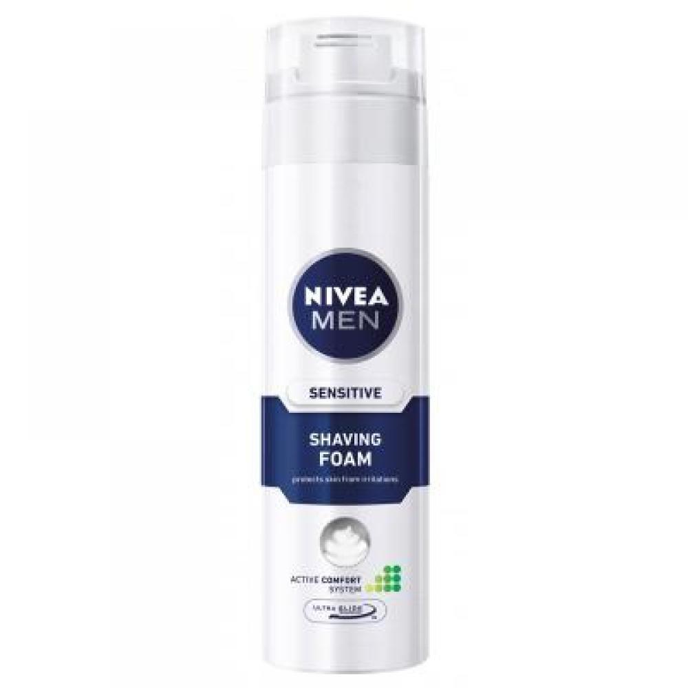 NIVEA MEN holicí pěna citlivá pleť 200 ml