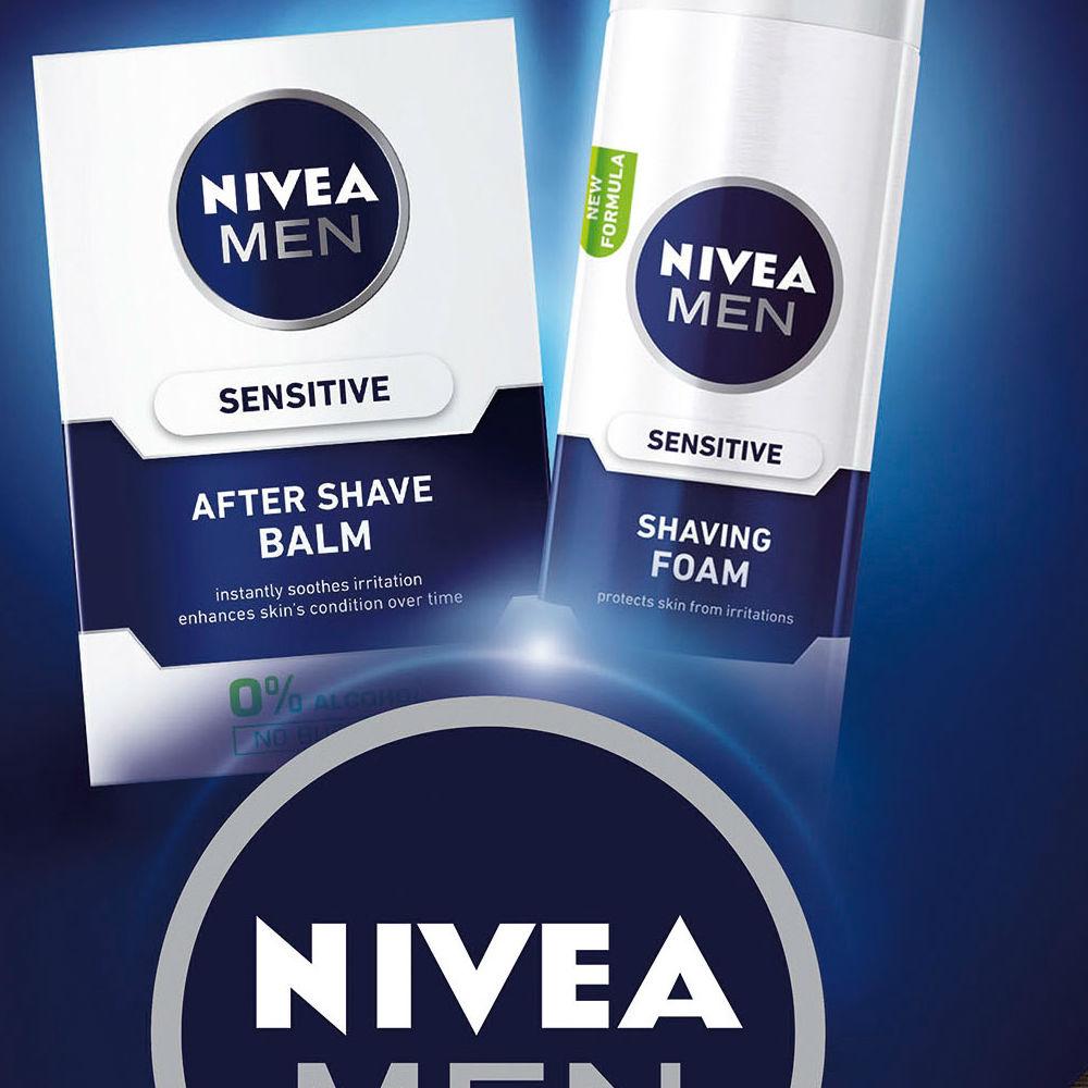 NIVEA Men Balm Sensitive vánoční kazeta