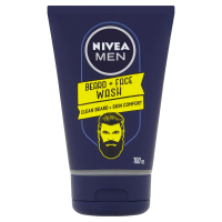 NIVEA Men Mycí gel na tvář a vousy 100 ml