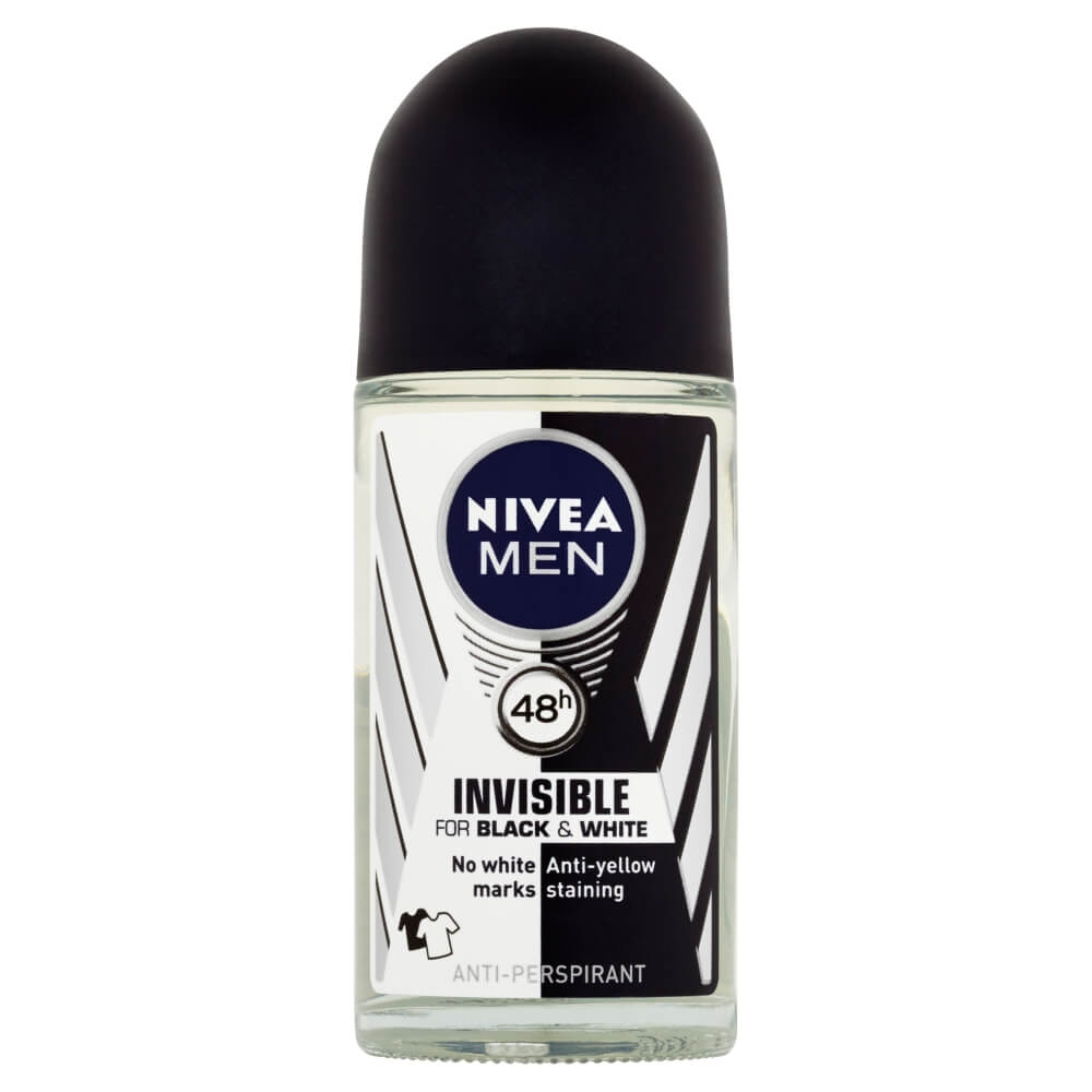 Nivea rollon pro muže, 50ml Invisible POWER