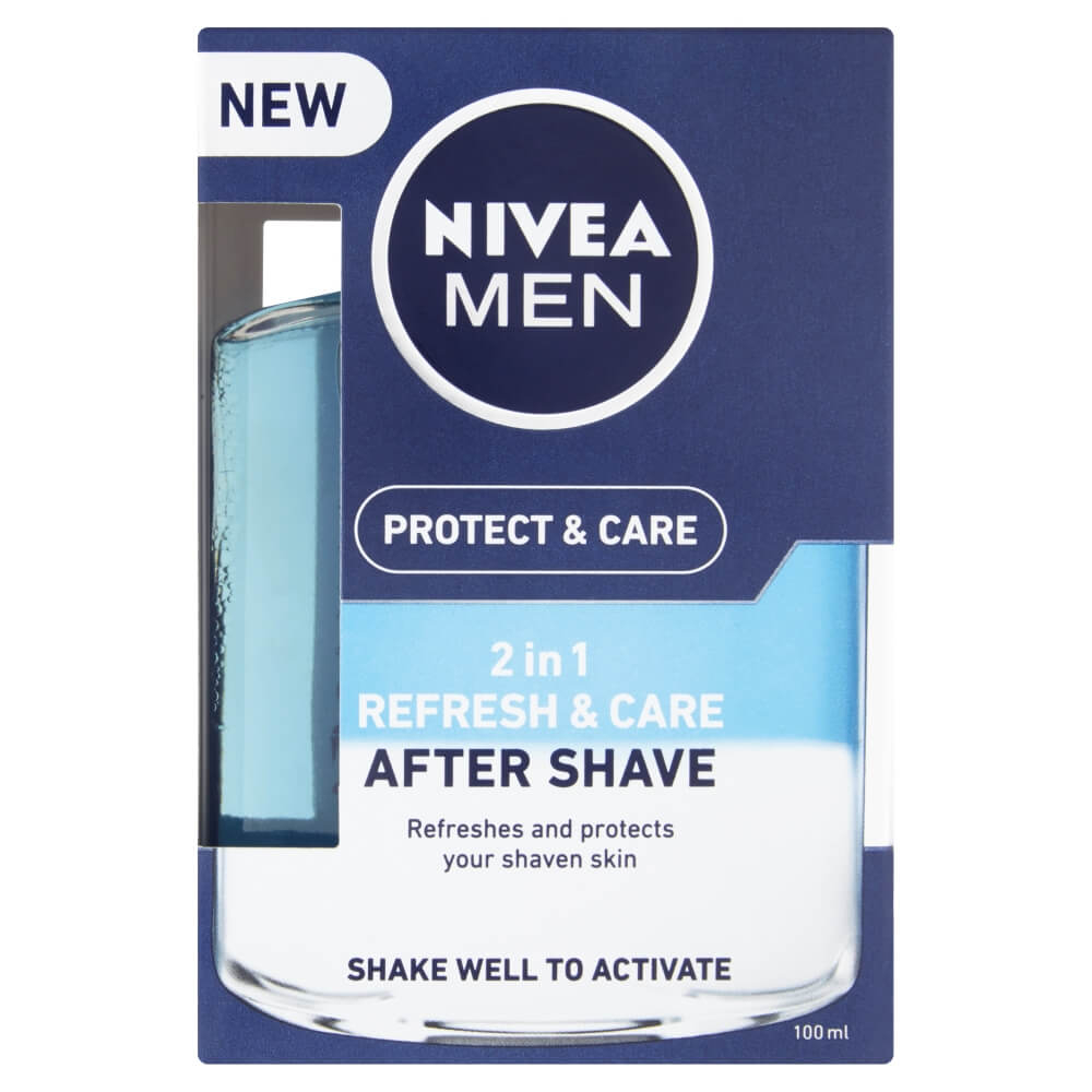 NIVEA MEN Peč.voda po holení 100ml 2v1