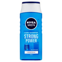 NIVEA MEN Strong Power Šampon pro muže 250 ml