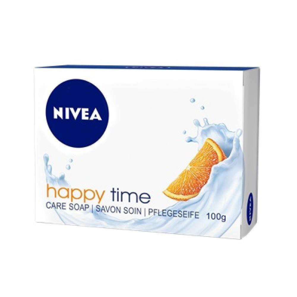 NIVEA Happy Time Pečující krémové mýdlo 100 g