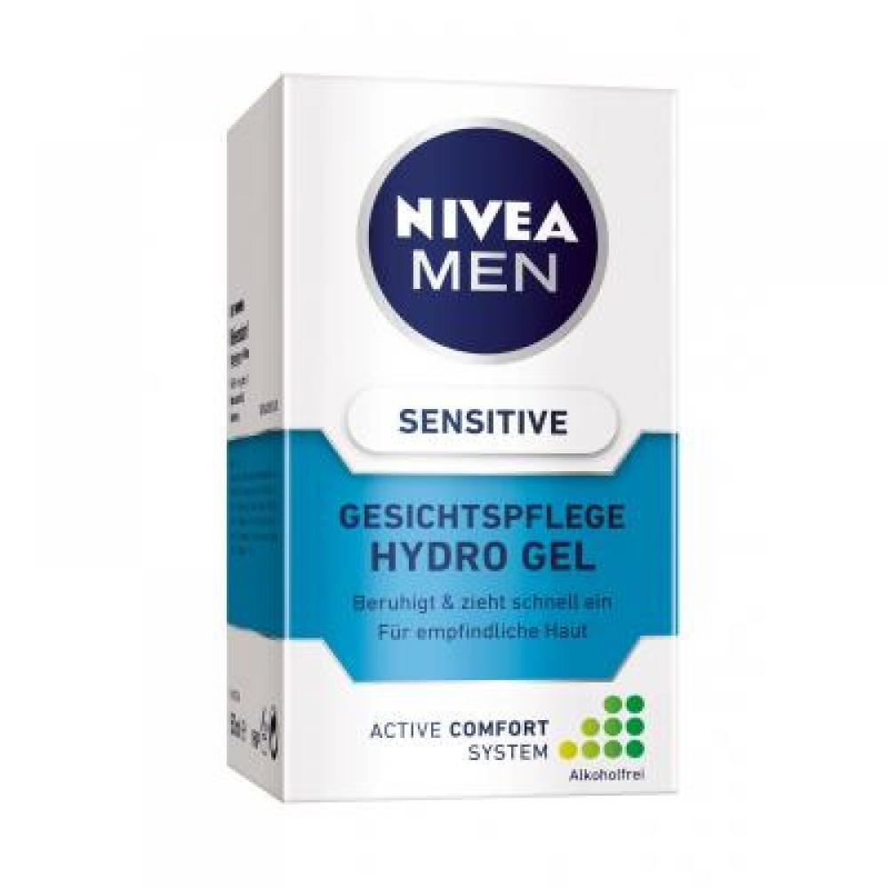 Nivea pleťový gel Sensitive pro muže,50 ml