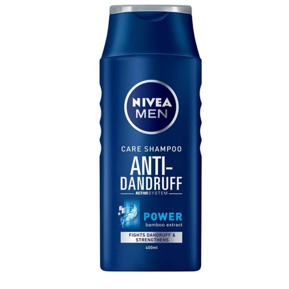 NIVEA šampon 400ml muži Power p.lupům
