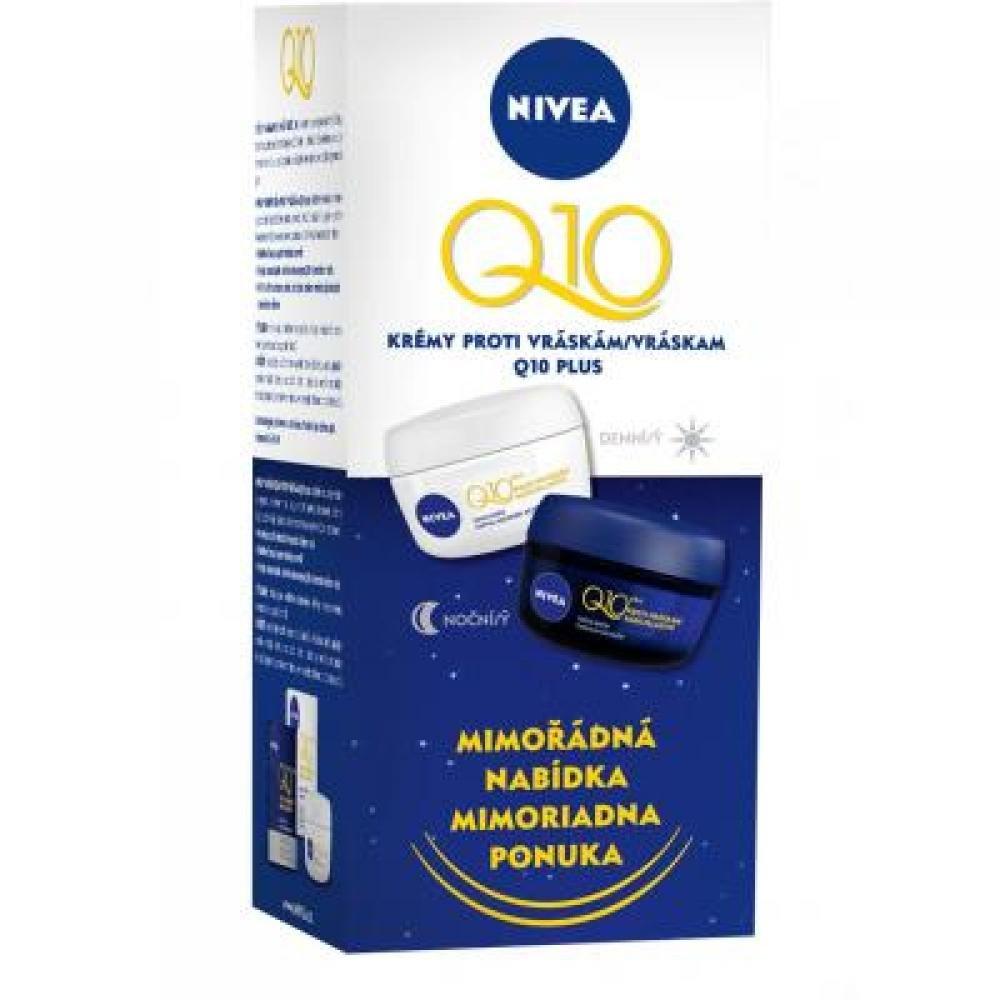 NIVEA Q10 duopack denní a noční krém 50 ml