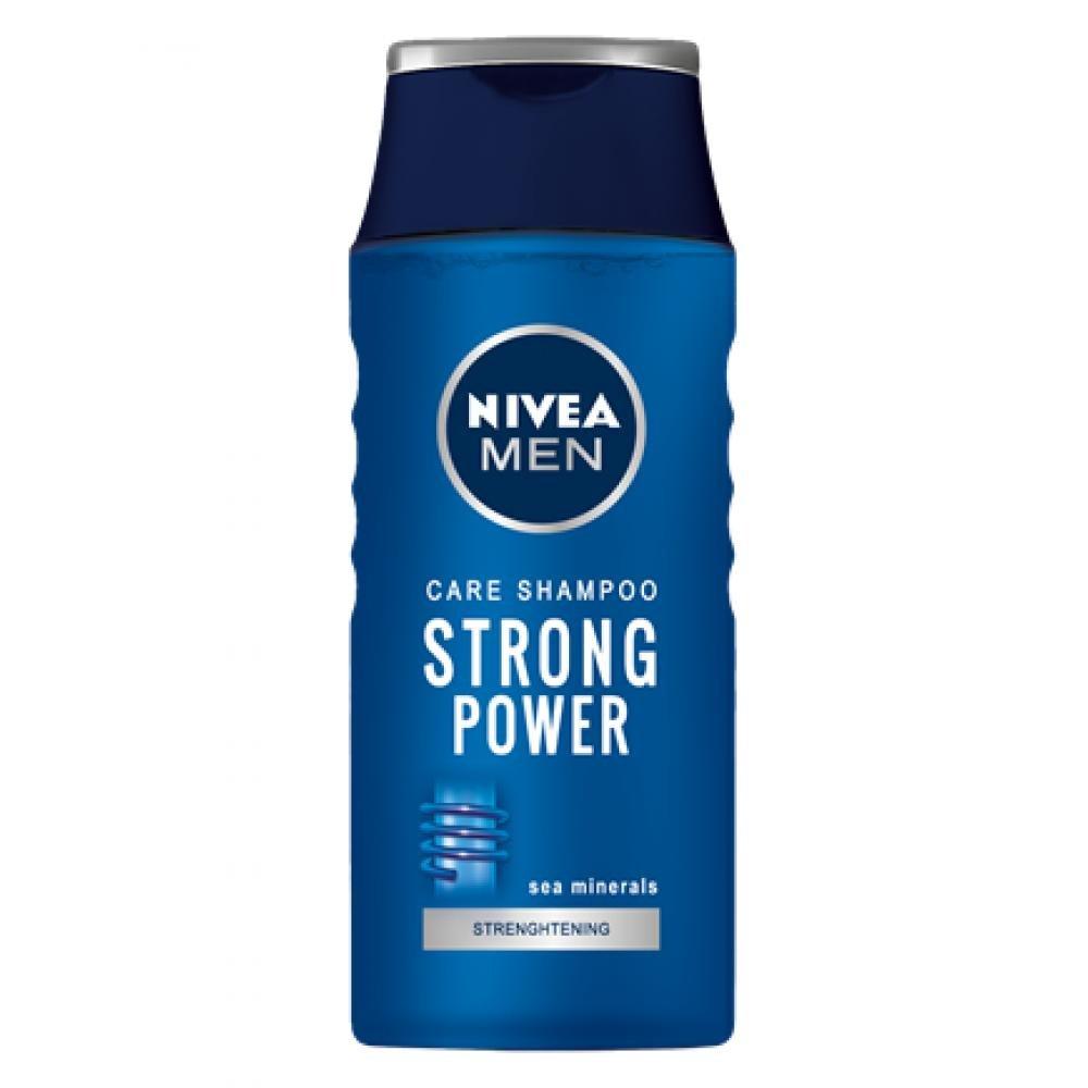 NIVEA Šampon pro muže Strong Power 400 ml
