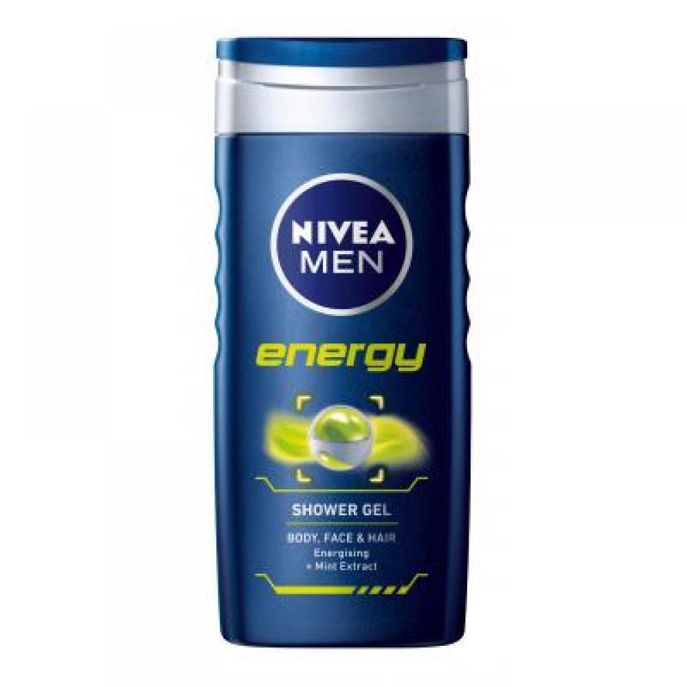NIVEA MEN Shower sprchový gel pro muže Energy 250 ml