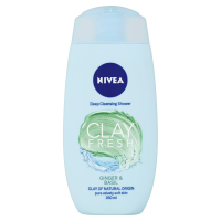 NIVEA Sprchový gel Clay Fresh Ginger&Basil 250 ml