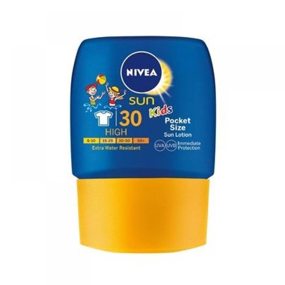 NIVEA Sun Kapesní dětské mléko na opalování OF 30 50 ml