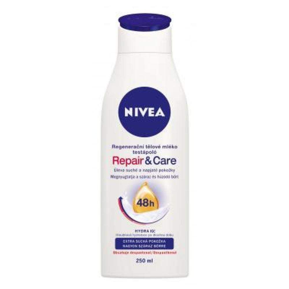 NIVEA tělové mléko repair care, 250ml
