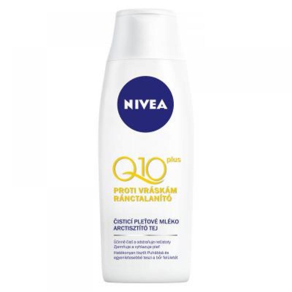 NIVEA Q10 čistící mléko proti vráskám 200 ml