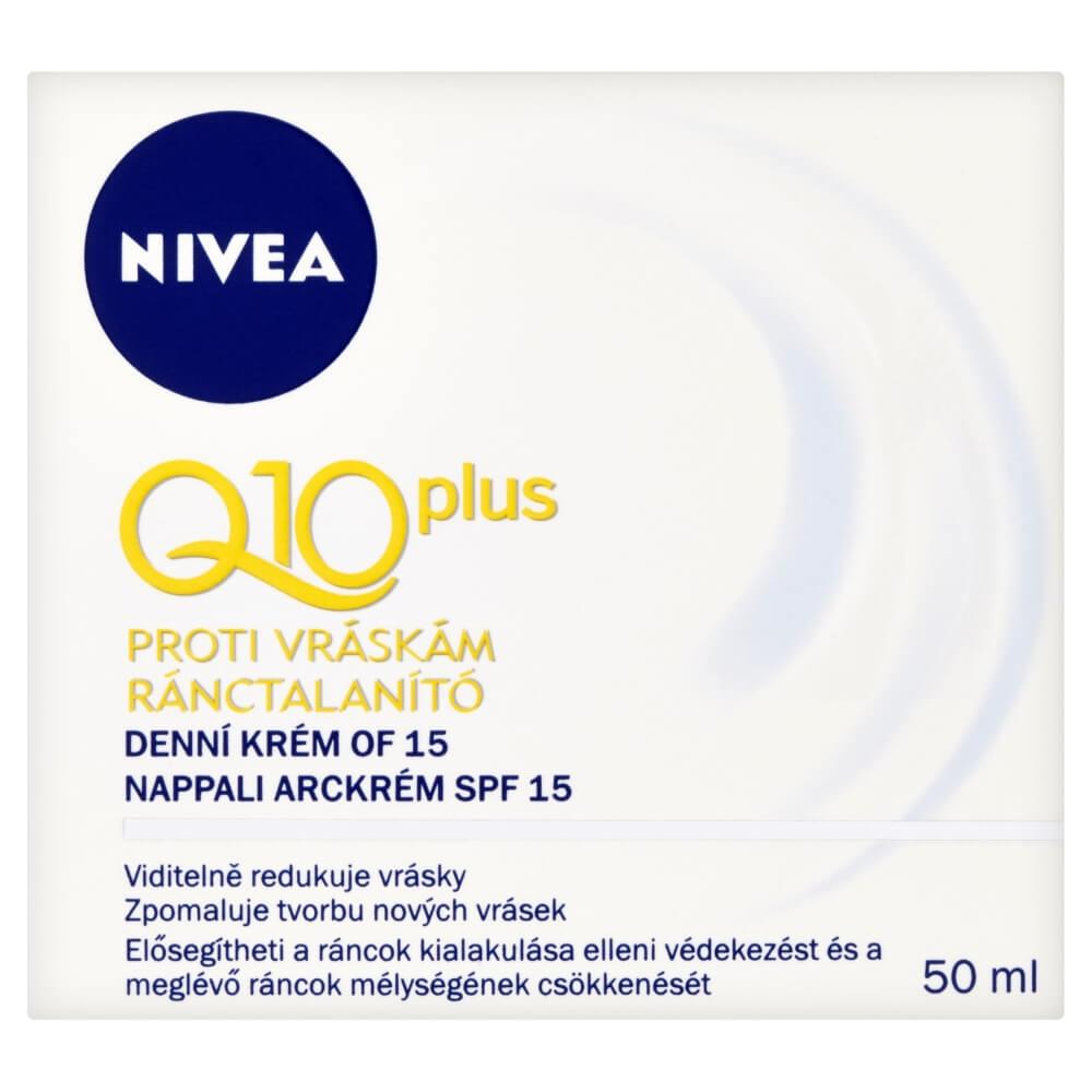 NIVEA Visage denní krém-vrásk.Q10 Plus 50 ml