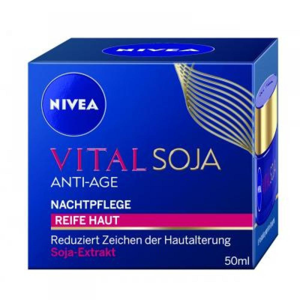 NIVEA Vital Optim noční krém pro zralou pleť 50 ml