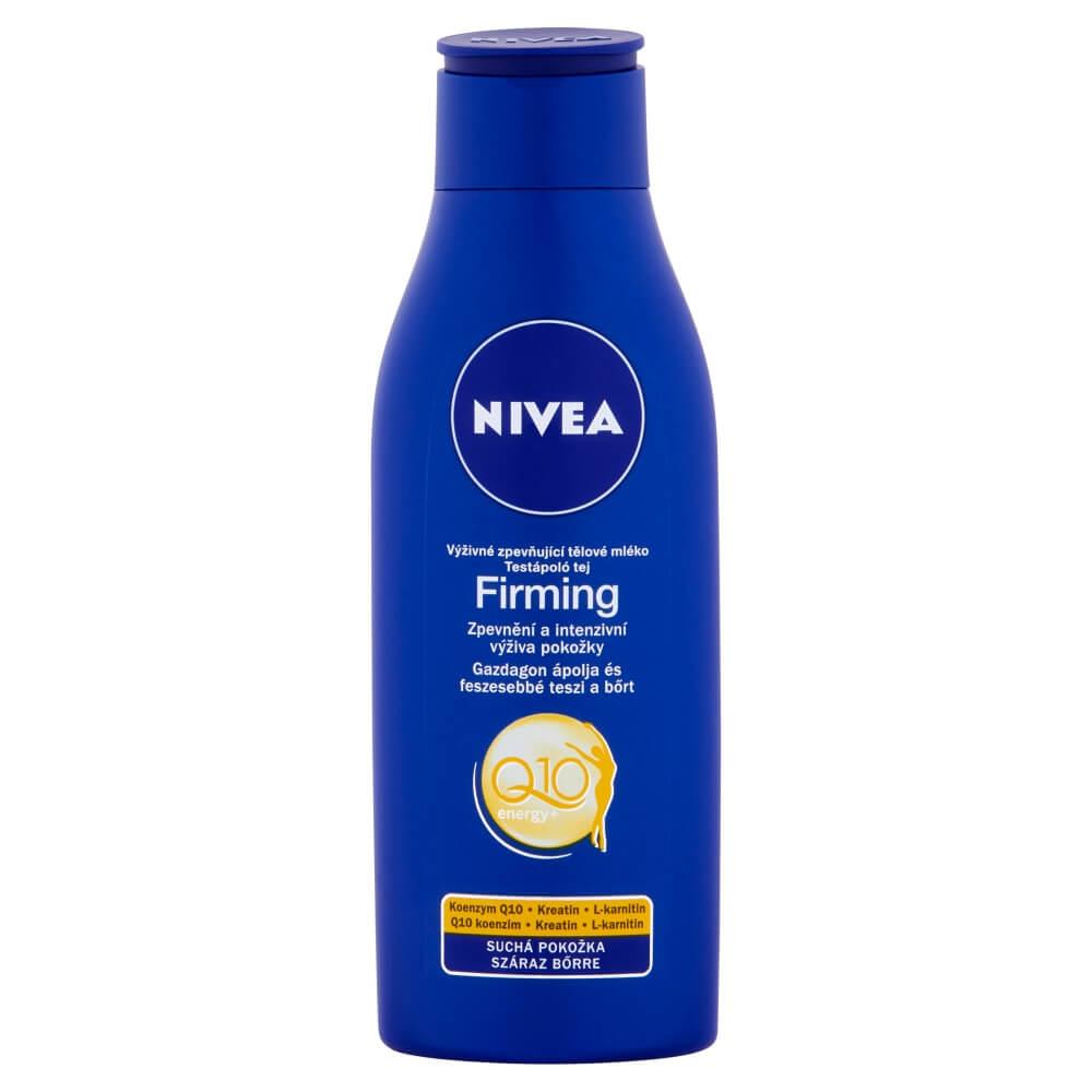 NIVEA tělové mléko 250ml zpevňující Q10 suchá pleť