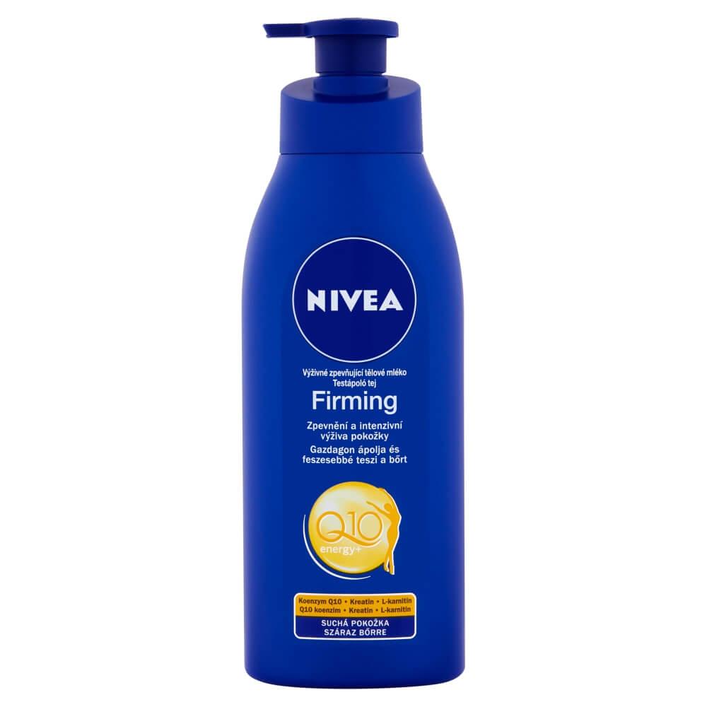 NIVEA zpěvňující tělové mléko s Q10 pro suchou pleť 400 ml