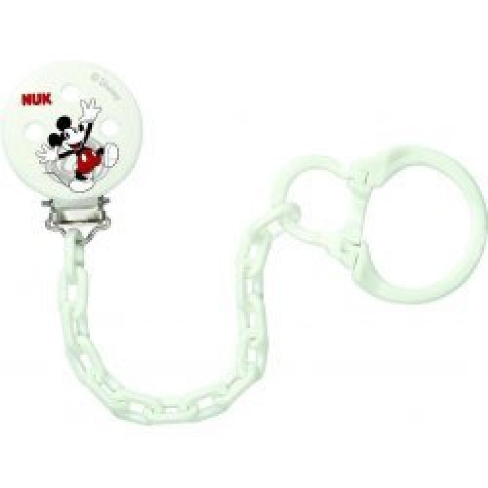 NUK Řetízek na dudlík Disney Mickey Mouse