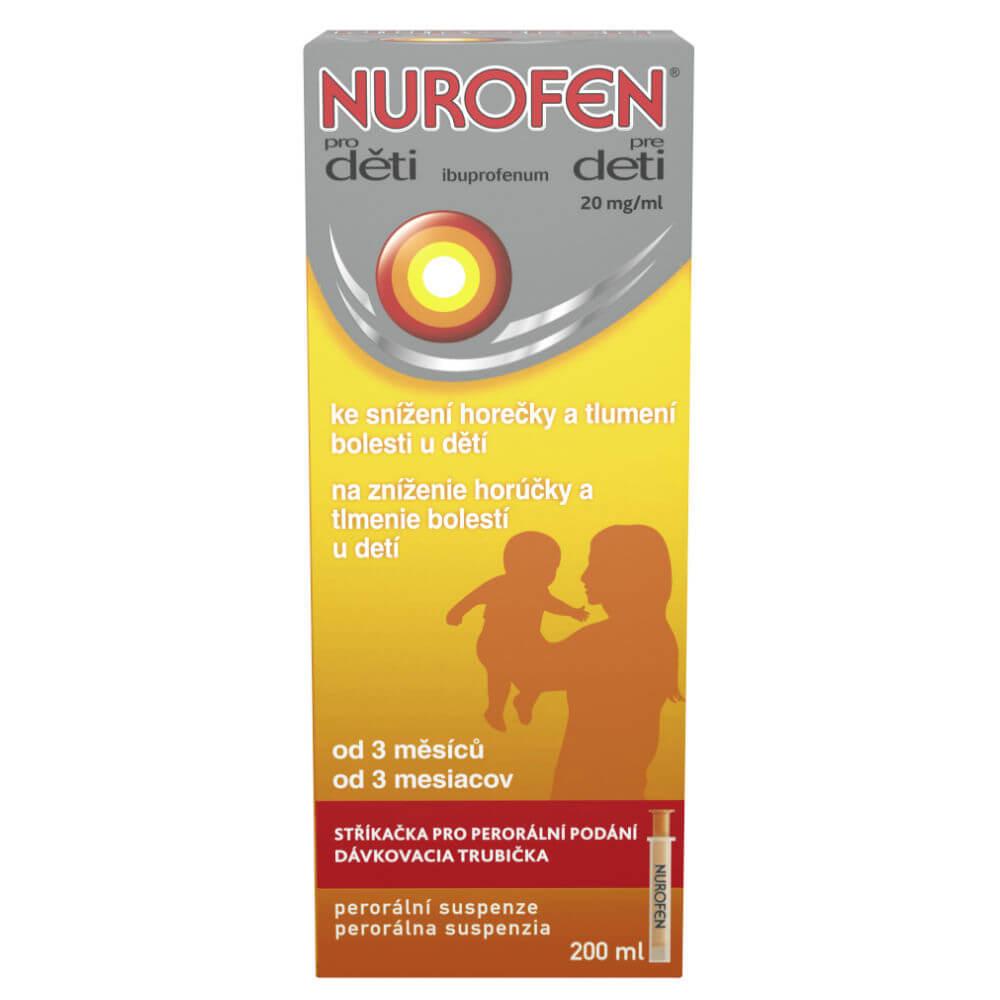 NUROFEN pro děti 20mg/ml 200 ml suspenze