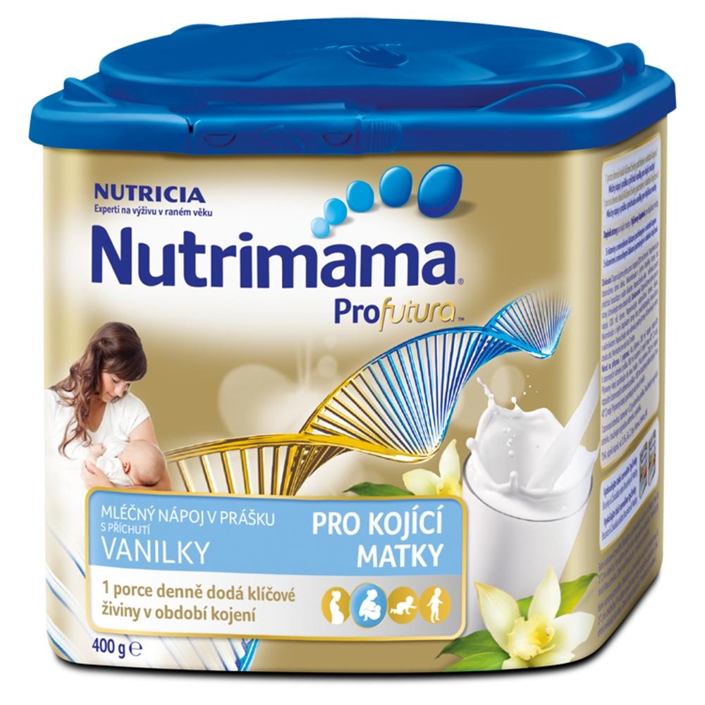 NUTRIMAMA Mléčný nápoj v prášku s příchutí vanilky 400 g