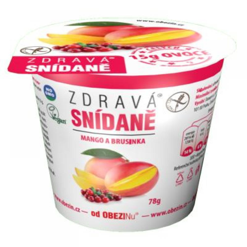 OBEZIN Zdravá snídaně od Mango a brusinka 78 g