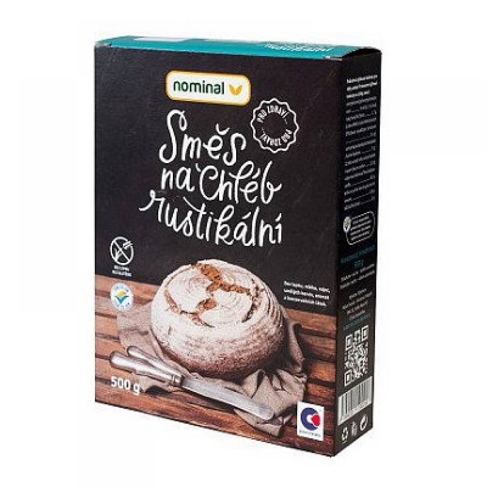NOMINAL Bezlepková směs na chléb rustikální 500 g