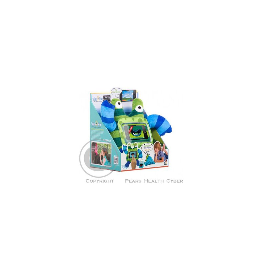 Ochranný a zábavný dětský obal / plyšová hračka na telefon GeBL, Stripy