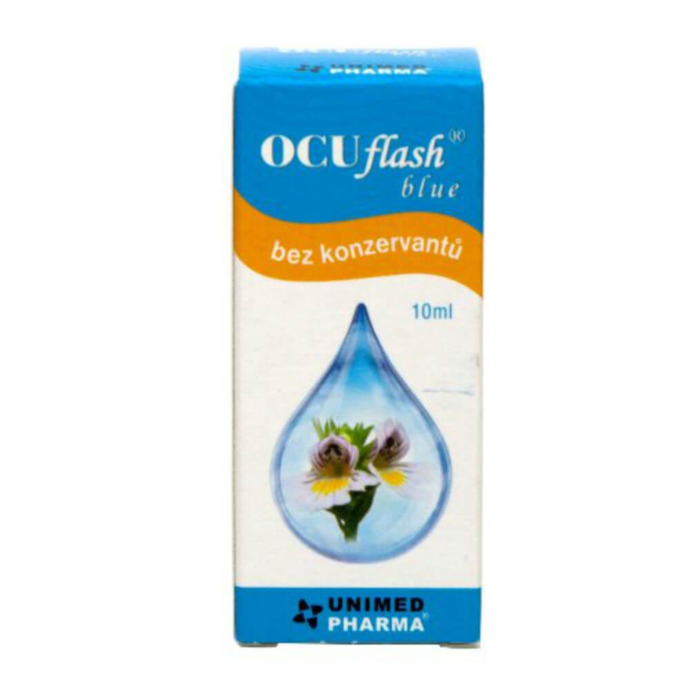 OCUFLASH Blue Oční kapky 10 ml