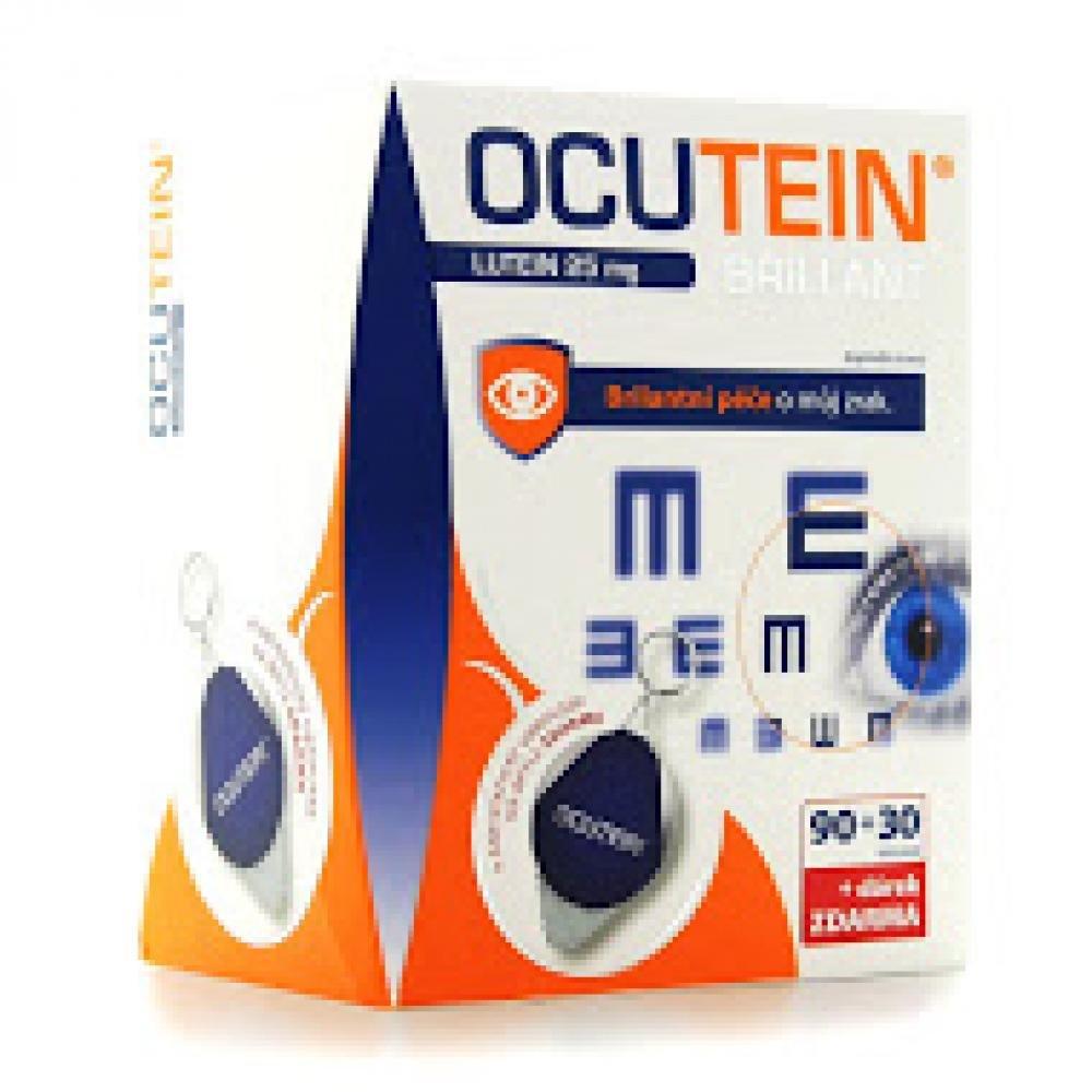 OCUTEIN Brillant Lutein 25 mg DaVinci 120 tobolek + ubrousek na brýle