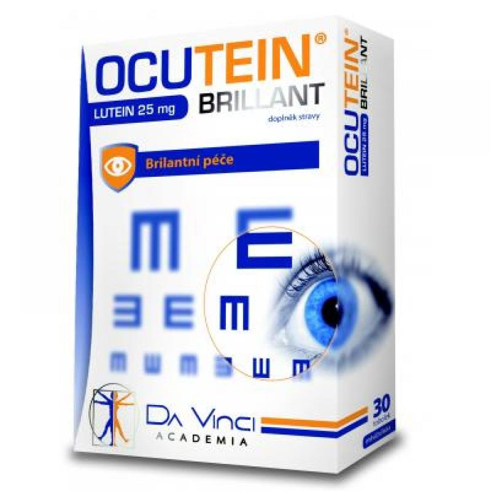 OCUTEIN Brillant Lutein 25 mg DaVinci 30 tobolek