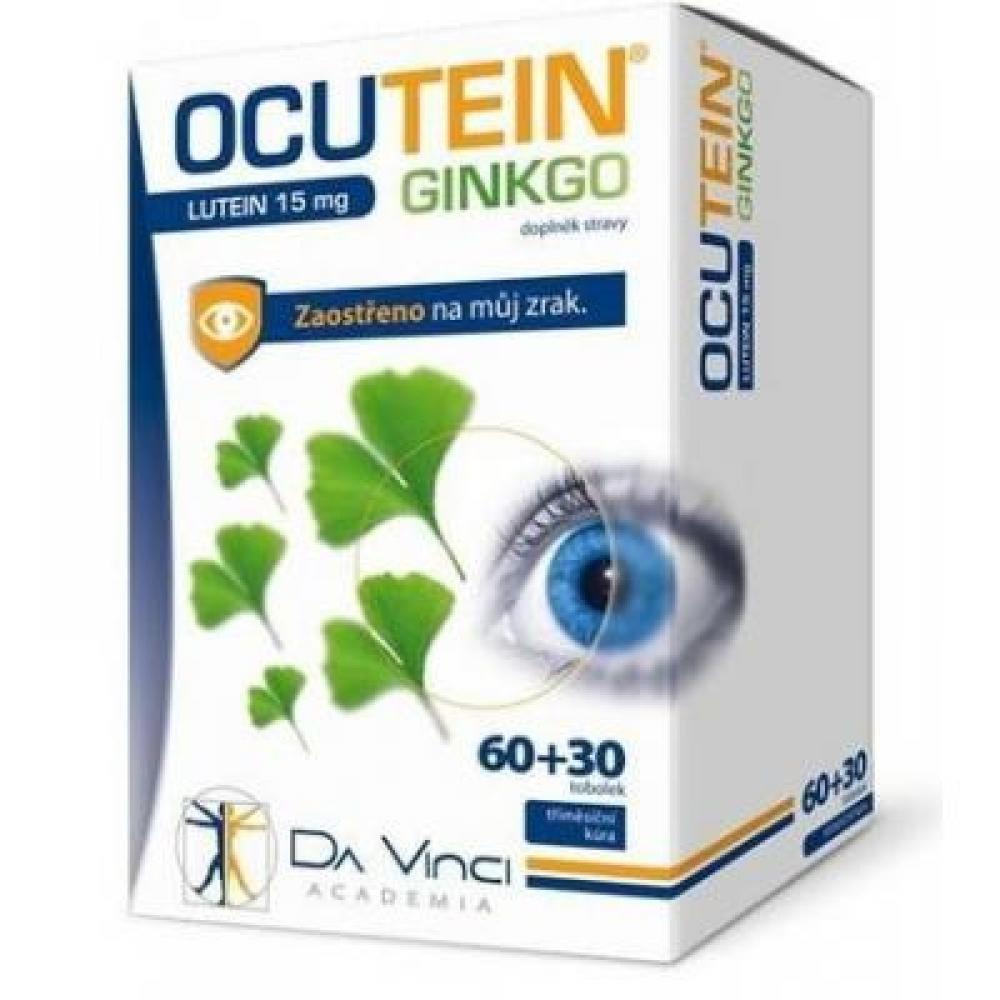 OCUTEIN Ginkgo Lutein 15 mg DaVinci 60+30 tobolek