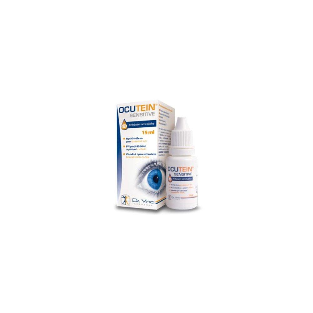 OCUTEIN Sensitive oční kapky DaVinci Academia 15 ml
