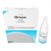 OFTAGEL  3X10GM/25MG Oční gel