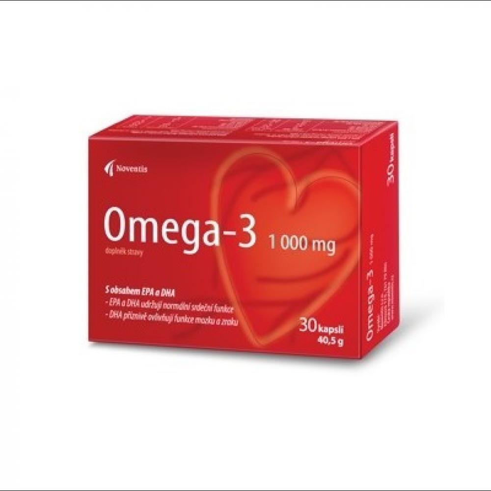 NOVENTIS Omega-3 1000 mg 30 kapsúl