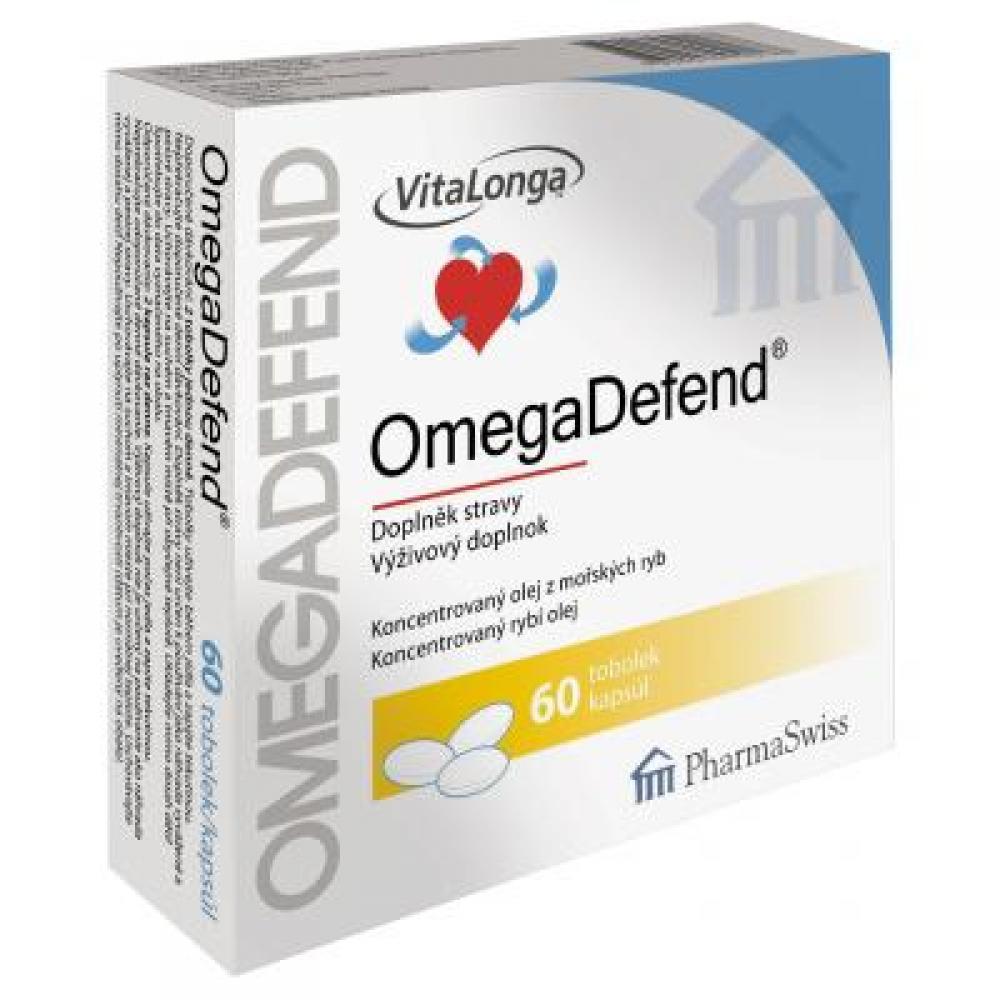 VITALONGA OmegaDefend 60 tobolky