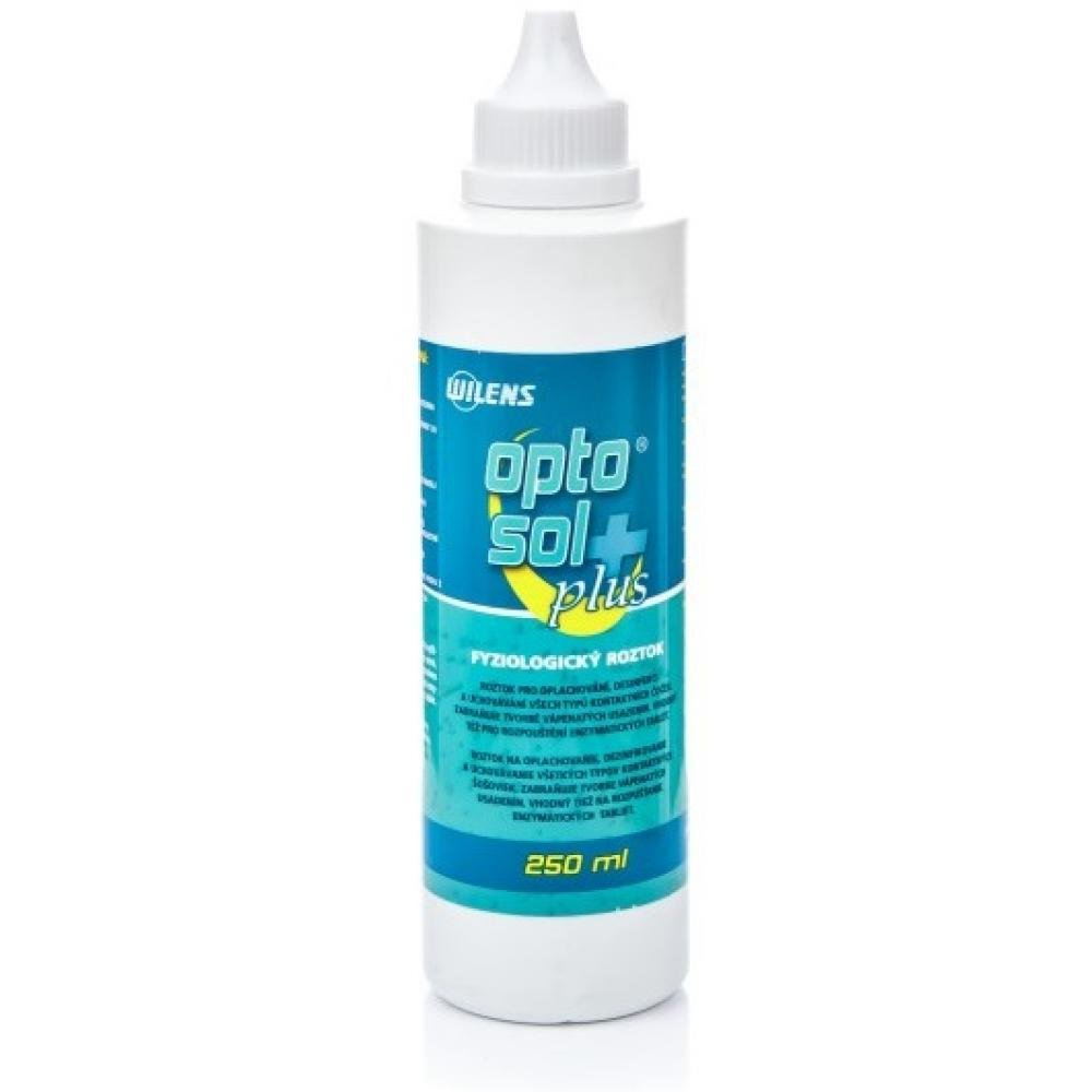 Optosol Plus na kontaktní čočky 250 ml