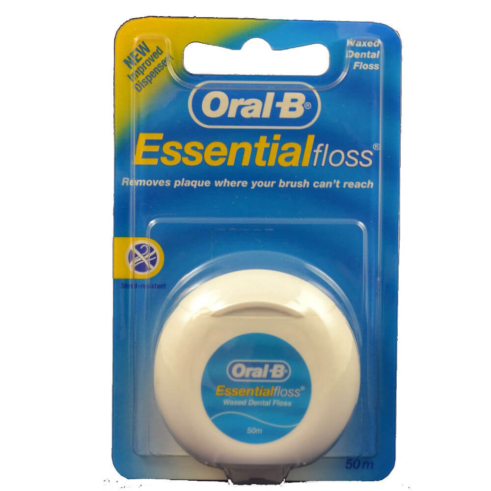 ORAL- B Dentální nit Essential Floss 50 m