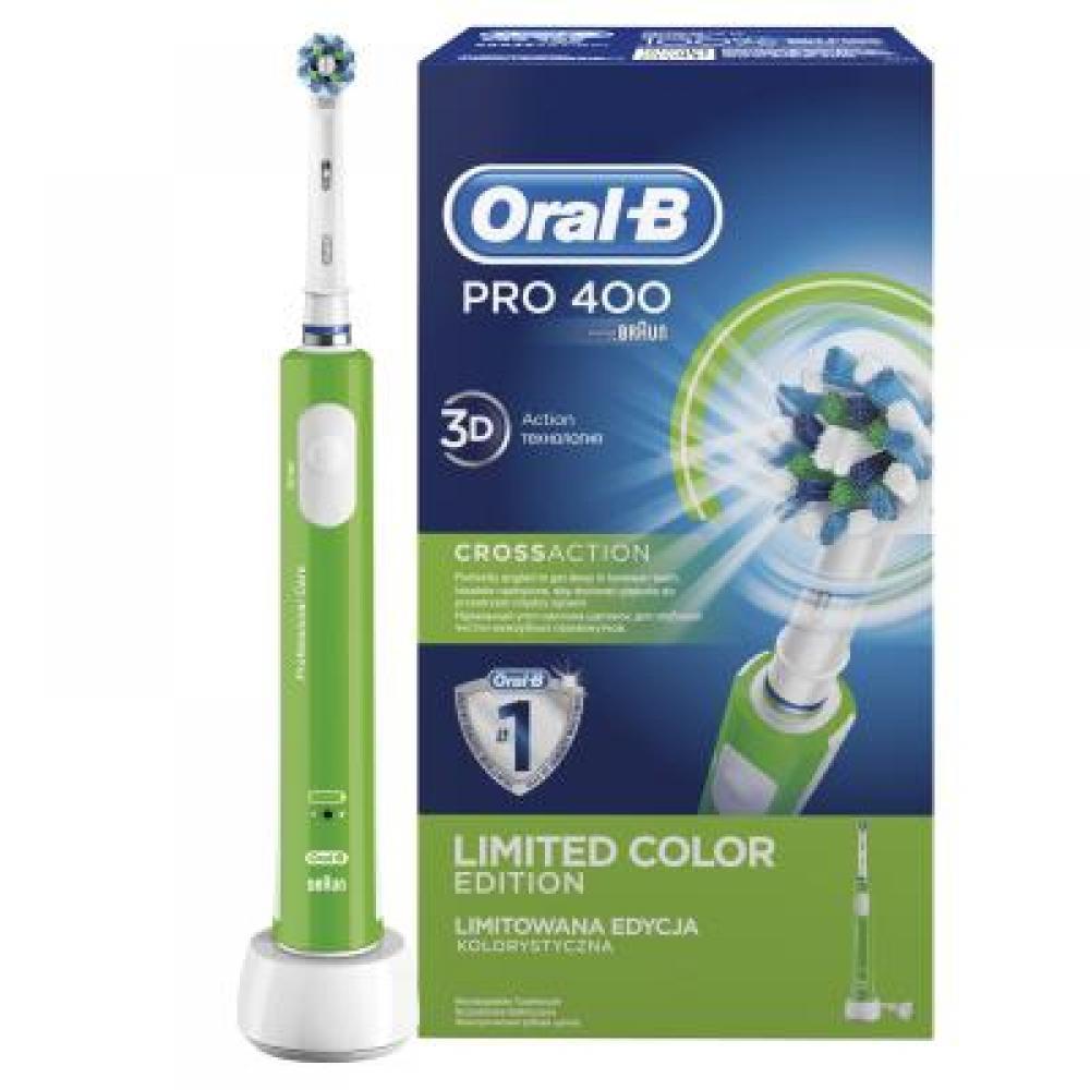 ORAL-B Pro 400 Green Elektrický zubní kartáček