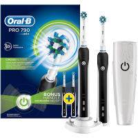 ORAL-B Pro 790 Cross Action Bonus Handle - černý