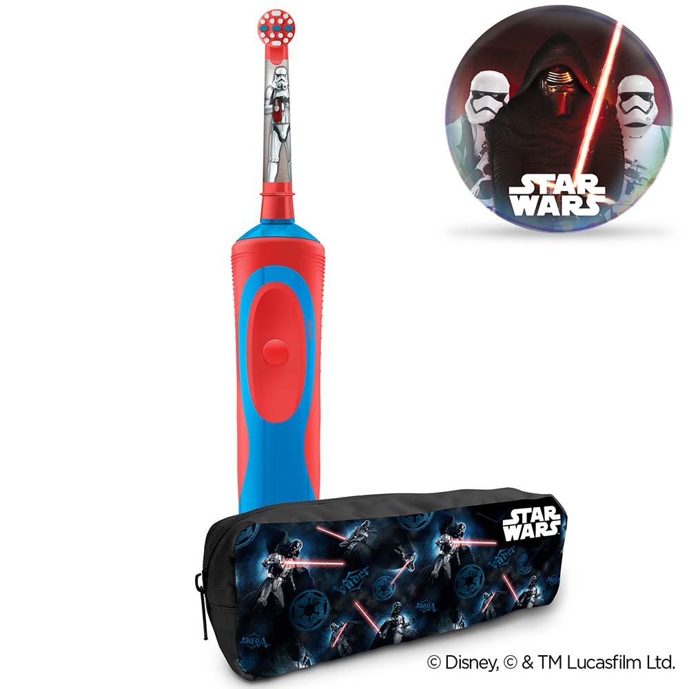 ORAL-B Vitality Star Wars elektrický dětský kartáček + penál