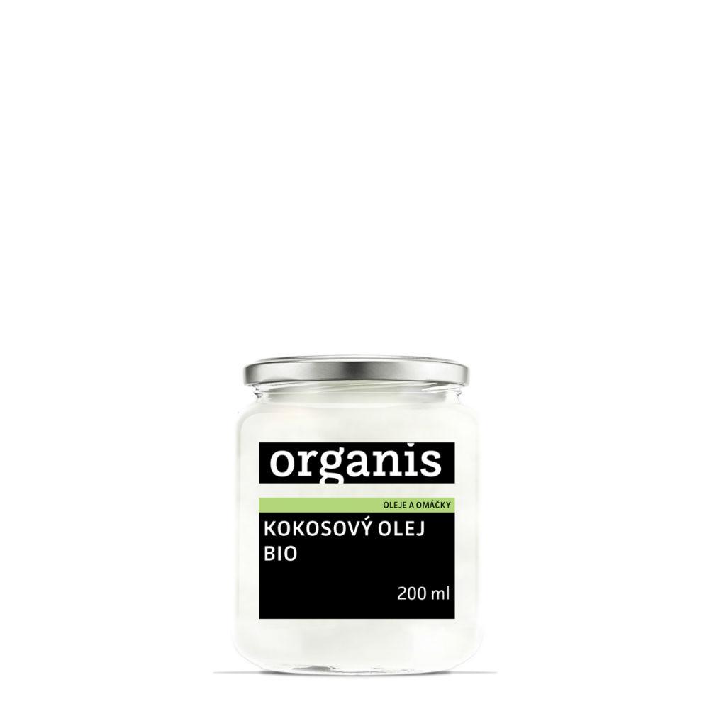 ORGANIS Kokosový olej panenský BIO 200 ml