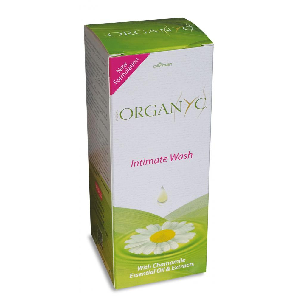 ORGANYC gel na intimní hygienu s heřmánkem 250 ml
