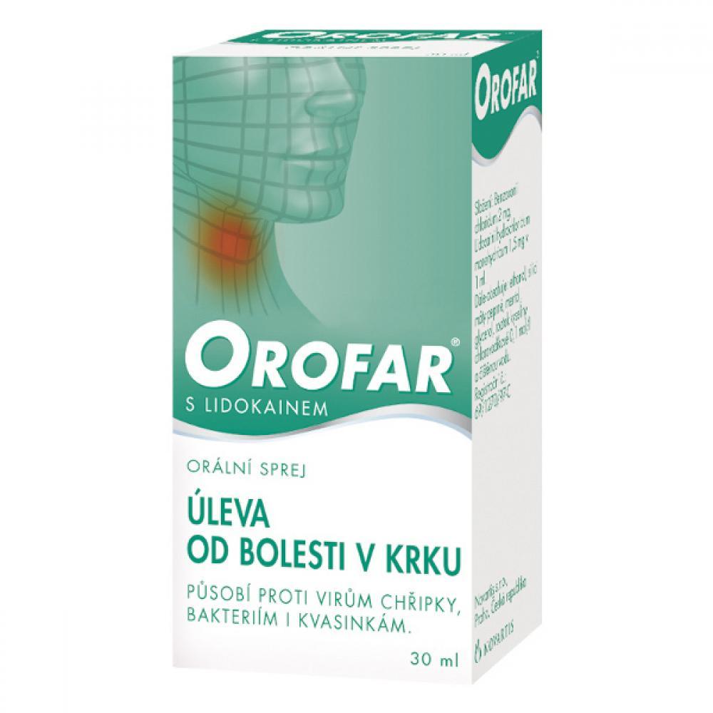 OROFAR  1X30ML Ústní sprej