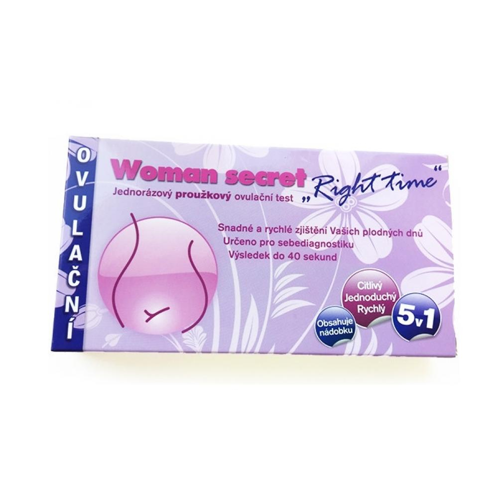IMPERIAL VITAMINS Ovulační test Woman Secret Right Time proužkový 5v1