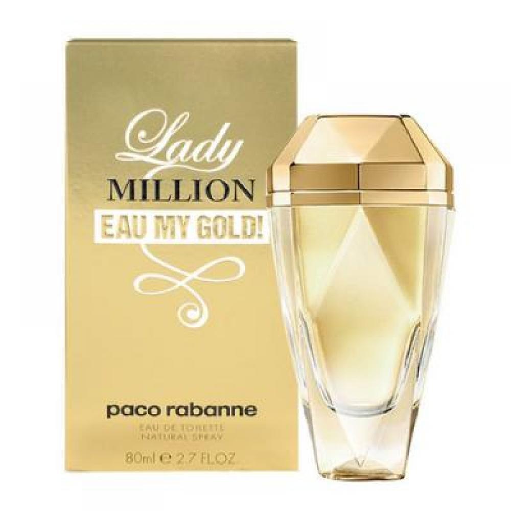 Paco Rabanne Lady Million Eau My Gold! Toaletní voda 80ml tester TESTER