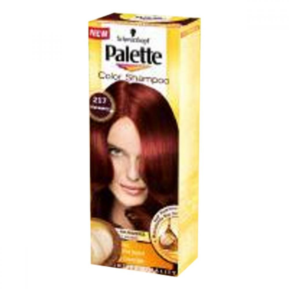 PALETTE Color shampoo 217 mahagon