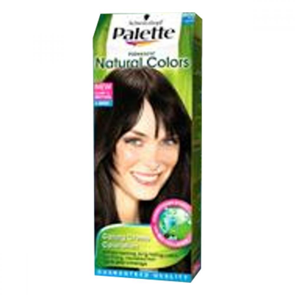 PALETTE natural Color 800 tmavě hnědá
