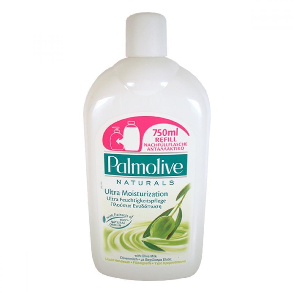 Palmolive tekuté mýdlo olive milk,750ml - náplň